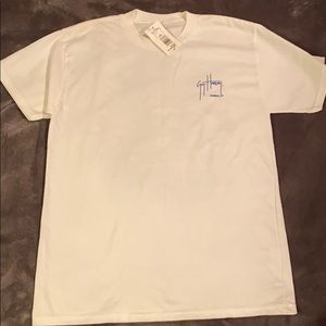 Guy Harvey Boys White Size L T-Shirt New